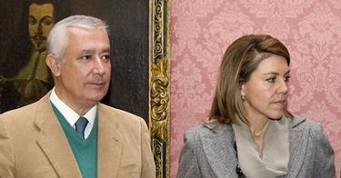 Arenas y Cospedal, en Sevilla, presentando el Congreso Nacional | PP