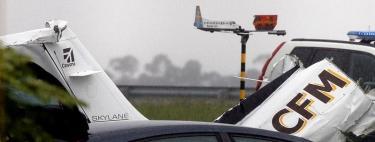 Accidente aéreo en Asturias.   EFE