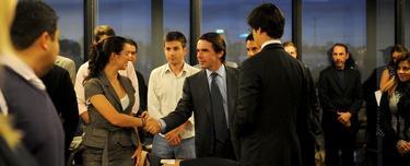 José María Aznar en el arranque del Programa de estudiantes Iberoamericanos de FAES | Fundación FAES