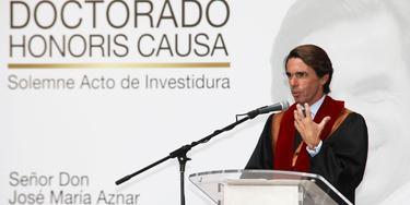 Aznar, en su discurso en Quito | FAES