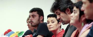 Miembros de la coalición, en la rueda de prensa | Efe