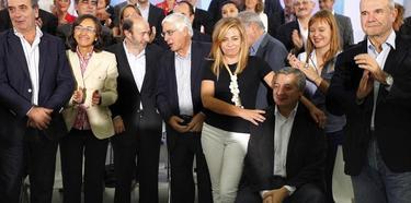 José Blanco, arropado este sábado por el Comité Federal del PSOE | EFE
