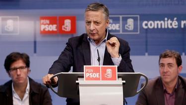 José Blanco, este sábado en Pamplona | EFE