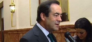 José Bono, presidente del Congreso.