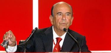 El presidente de Banco Santander, Emilio Botín | Archivo