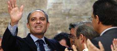 Francisco Camps, tras ser absuelto por el jurado popular | EFE