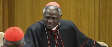 El cardenal Turkson, autor del polémico documento