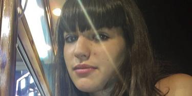 Celia Carpio, la menor que había desaparecido.