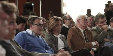 Chacón y Borrell en un acto del PSC