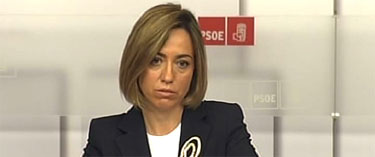 La candidata y ministra Carme Chacón | Archivo