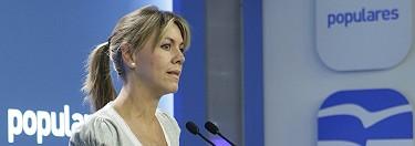 La presidenta de Castilla-La Mancha, María Dolores de Cospedal | PP
