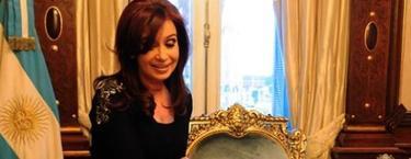 Cristina Fernández, el día que volvió a su despacho tras ser operada | EFE
