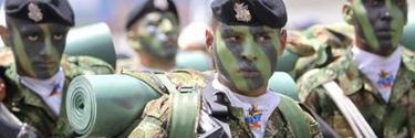 Unidades del Ejército colombiano.   Archivo