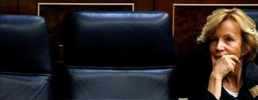 La ministra de Economía, Elena Salgado | Archivo