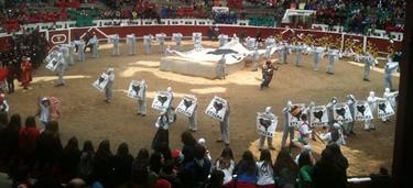 Los proetarras han ocupado la plaza de toros de Tolosa. | Libertad Digital