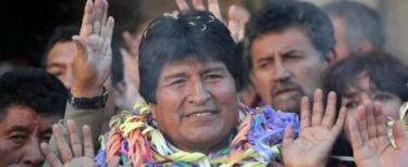 Evo Morales, presidente de Bolivia | Archivo