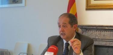 Felipe Puig, consejero de Interior de Cataluña