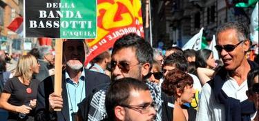 Indignados en Roma el pasado fin de semana   EFE