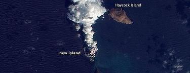 Nace una isla en el Mar Rojo | NASA