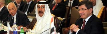 Reunión de emergencia de ministros de la Liga Árabe sobre Siria en El Cairo. | Efe