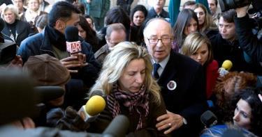 La familia de Marta del Castillo accediendo al juicio. | Archivo