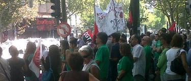 Concentración, frente a Génova   Twitter
