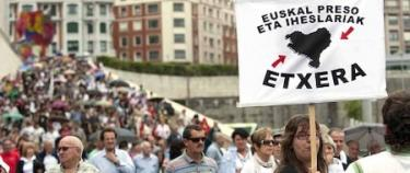 Marcha a favor de presos de ETA en Bilbao, este domingo | EFE