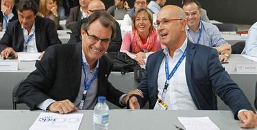 Artur Mas y Duran Lleida. | Archivo