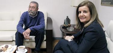 Méndez y Báñez en su último encuentro.