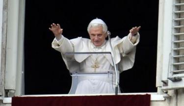 El Papa, durante el rezo del Angelus. | EFE