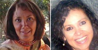 Las dos periodistas asesinadas   Efe