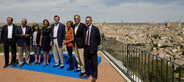 Los miembros de la dirección popular | PP/Tarek