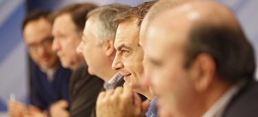 Zapatero, en el Comité Federal | Foto: PSOE
