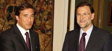 Coelho recibe a Rajoy en la embajada de Portugal | PP