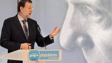 Rajoy, en el homenaje a Fraga en Santiago | EFE
