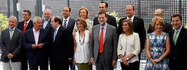 Rajoy, con los presidentes autonómicos del PP   Archivo/PP