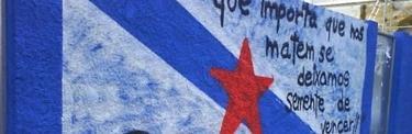 Mural de homenaje a Moncho Reboiras.