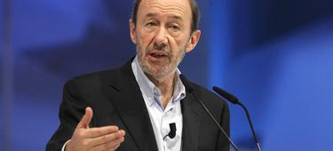 Alfredo Pérez Rubalcaba. | EFE