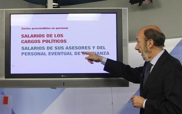 Rubalcaba presentando sus propuestas en una imagen de archivo   EFE