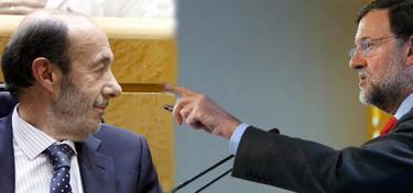 Rubalcaba y Rajoy | LD