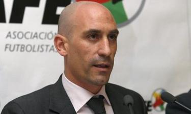 Rubiales, presidente de la AFE. | Archivo