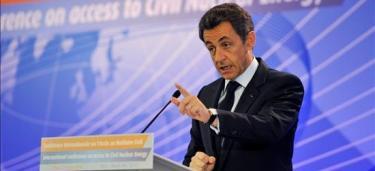 Sarkozy en una imagen de archivo