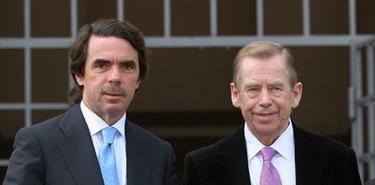 Havel junto a Aznar | Archivo