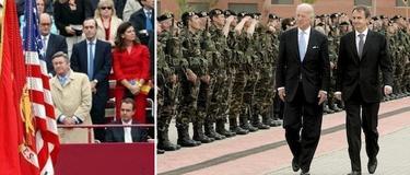 Dos legislaturas de Zapatero al frente de defensa   LD