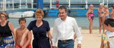 Zapatero en Doñana, en una foto reciente | Efe