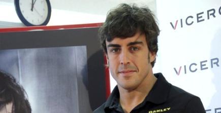 Fernando Alonso, durante el acto de Viceroy en Madrid. | EFE