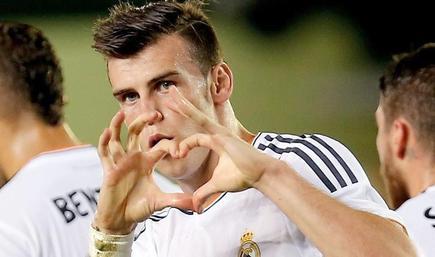 Gareth Bale celebra un gol con el Real Madrid. | EFE