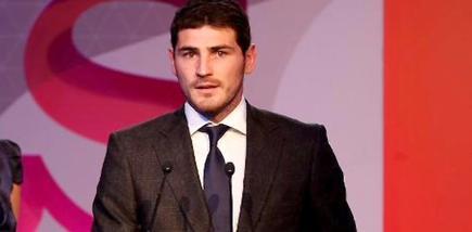 Iker Casillas, durante los Premios As. | Foto: realmadrid.com