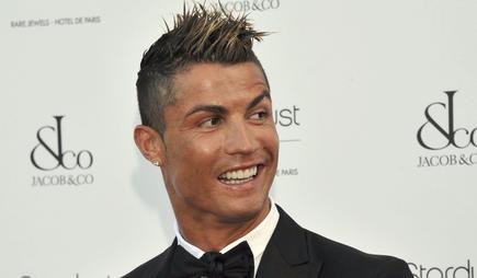 Cristiano Ronaldo, durante un acto promocional en Mónaco. |Cordon Press