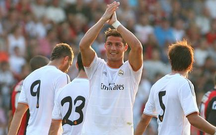 Ronaldo comienza su cuarta temporada en el Real Madrid. | Archivo